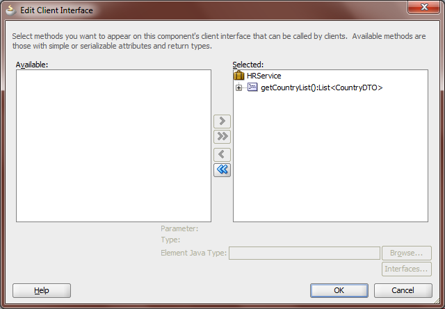 Create SOAP WebServices using BC4J - Flexagon