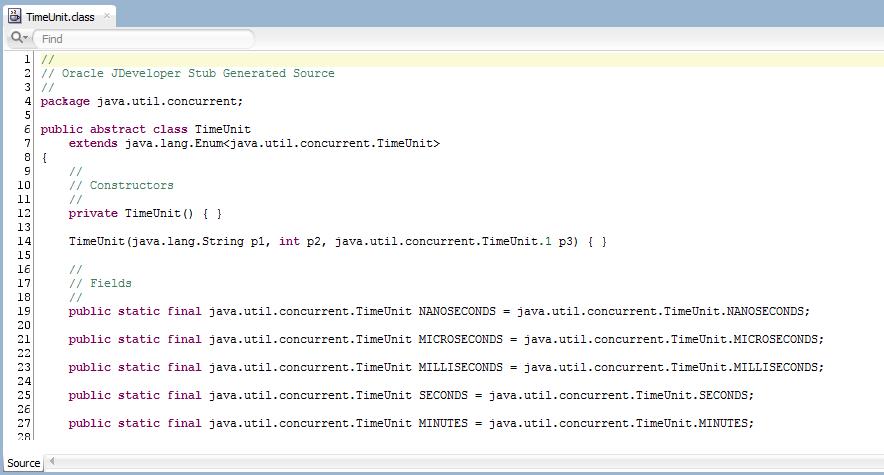 Java Source for JDK classes in JDeveloper 12c - Flexagon