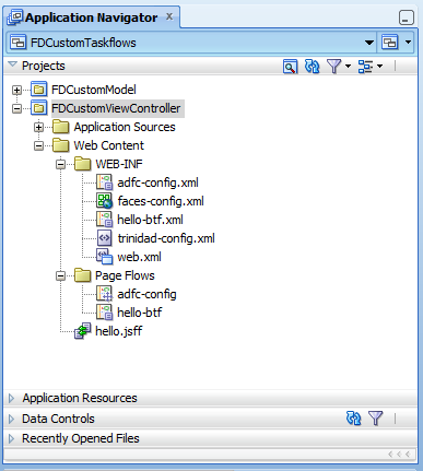 CustomFMWAppStructure