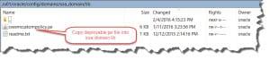 Copy JAR file to the WLS DOMAIN\lib directory