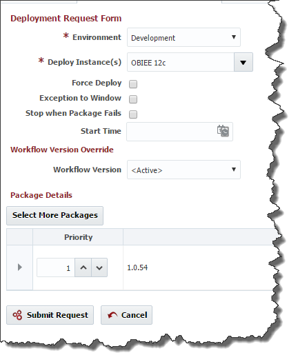Oracle Business Intelligence Migration with FlexDeploy