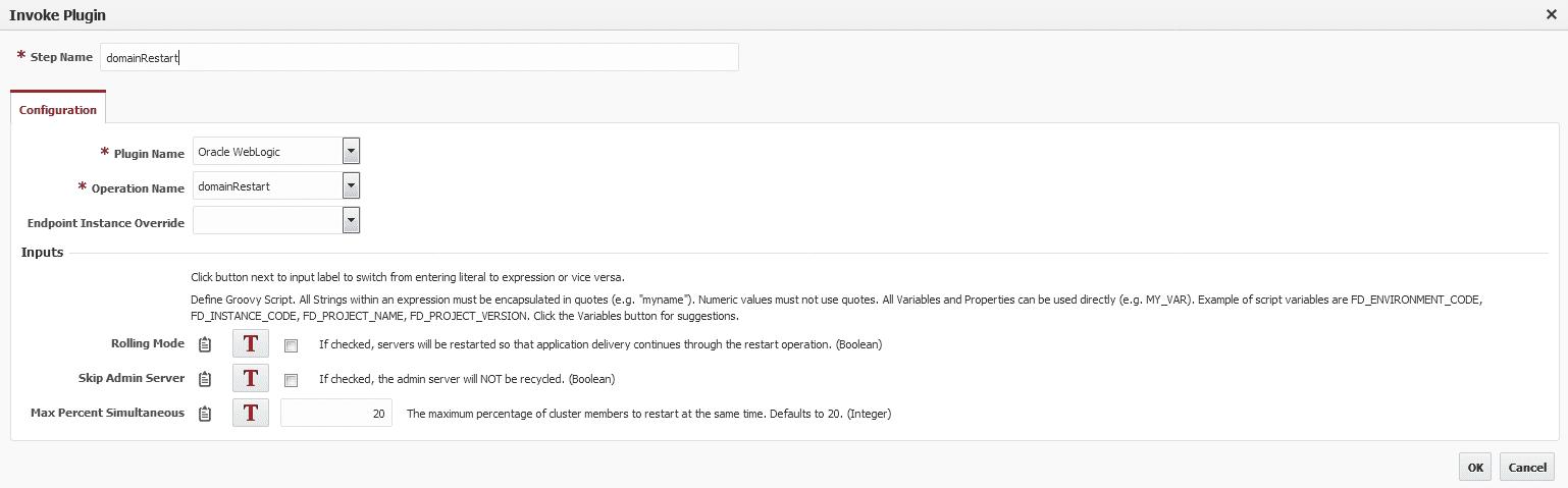WebLogic Domain Restart