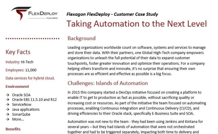 DevOps Case Study: Taking Automation to the Next Level