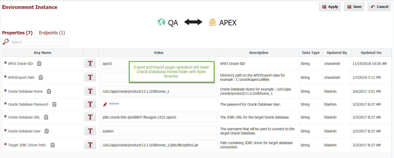 FlexDeploy Loves APEX : Source Application from Development