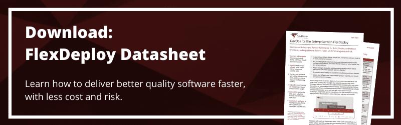 FlexDeploy for DevOps Datasheet