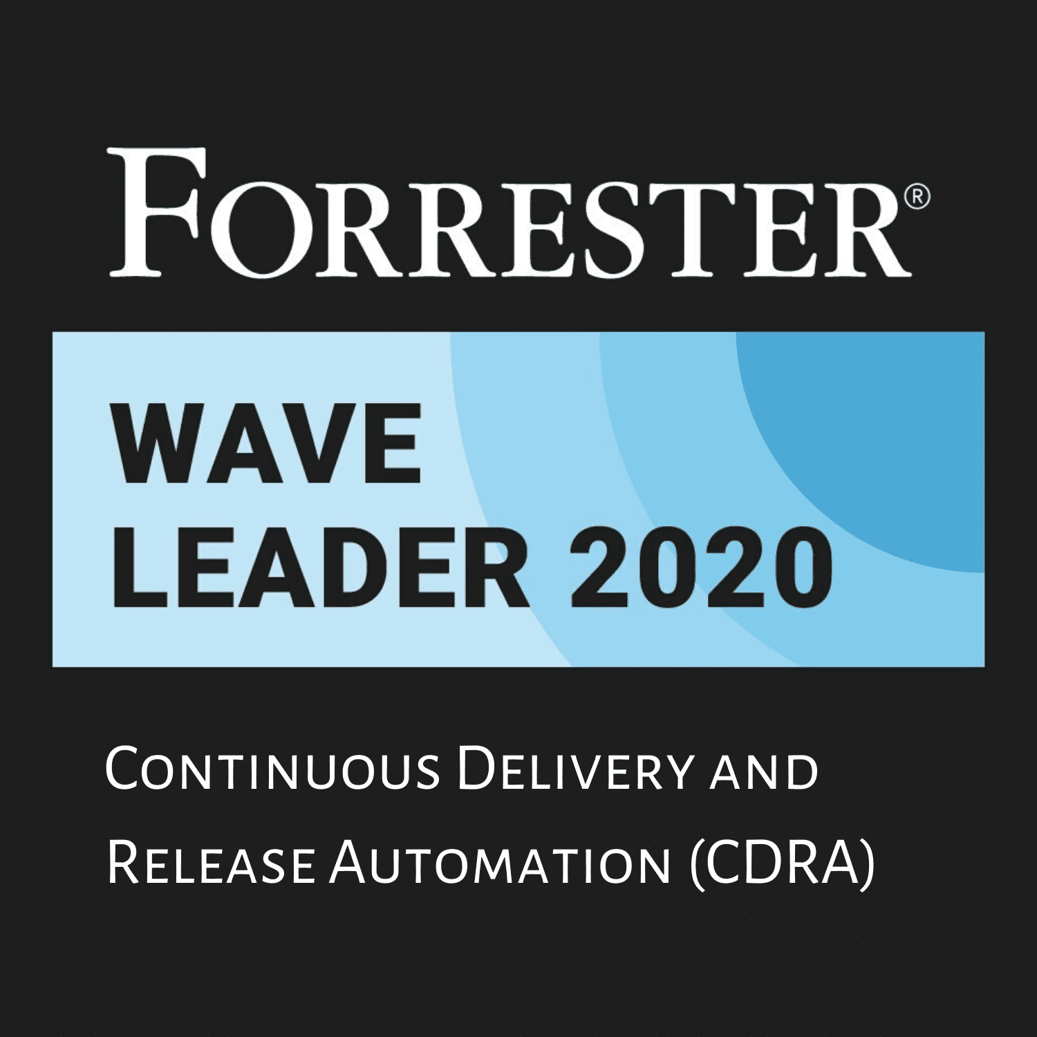 Forrester award for Continuous Delivery and Release Automation (CDRA)