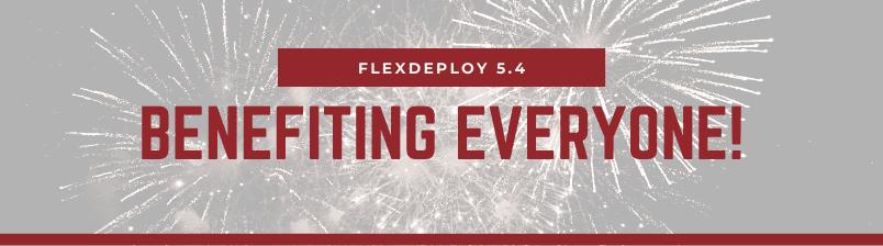FlexDeploy 5.4