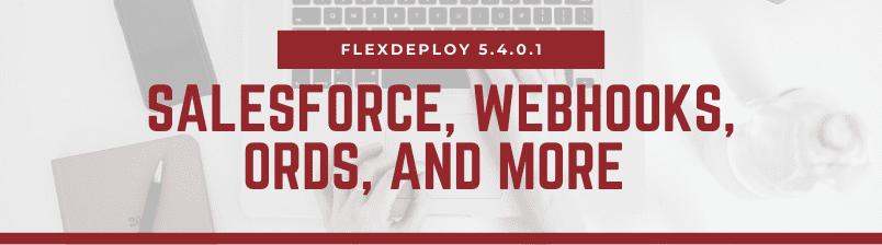 FlexDeploy 5.4.0.1